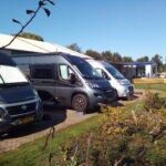 De camperplaatsen